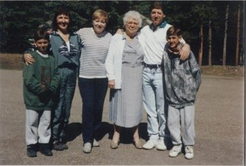 Family & Great Grandma Wiebe