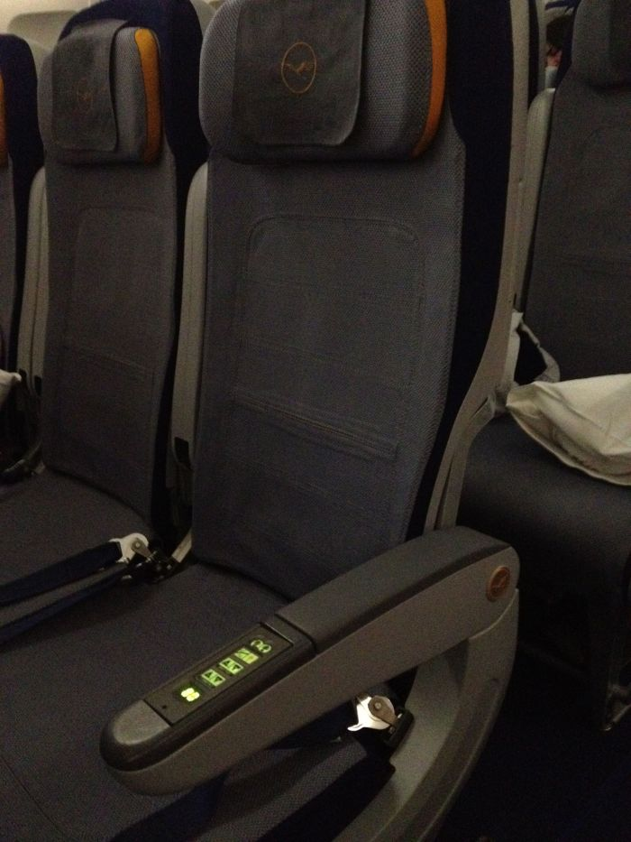Lufthansa Uncomfortable Hard Ass Military Economy Seat